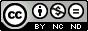 Лицензия Creative Commons Attribution-NonCommercial-NoDerivs. С указанием авторства — Некоммерческая — Без производных произведений -  С сохранением условий