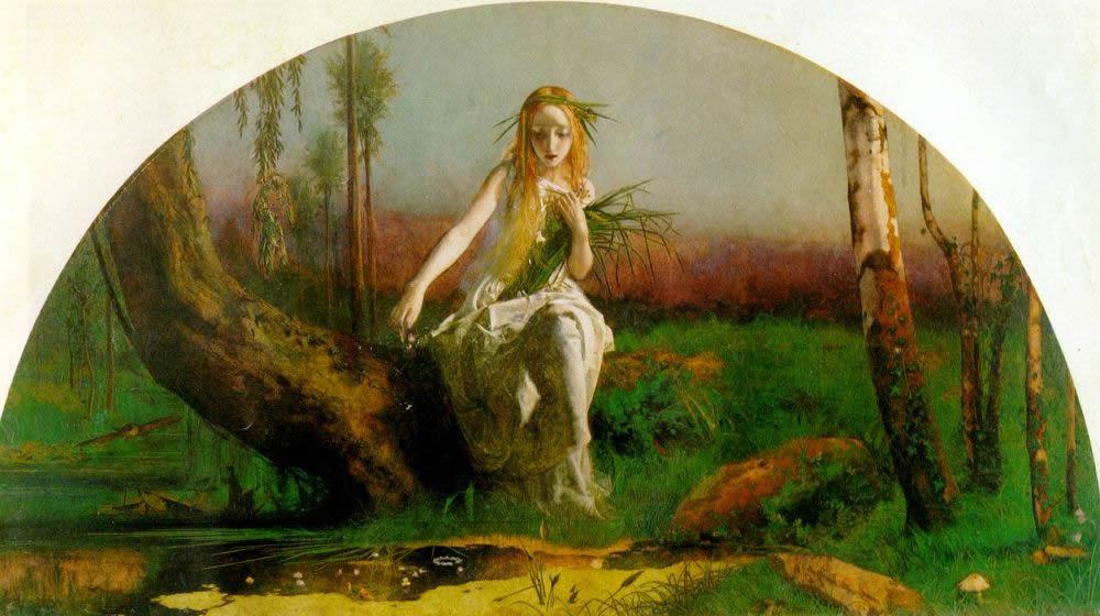 А. Хайес. Офелия. 1853