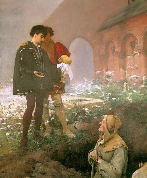 П.Даньян-Бувере.Гамлет и могильщик. 1883_