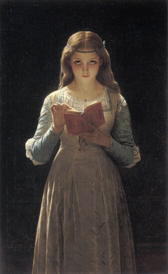 П.Даньян-Бувере.Офелия. 1870