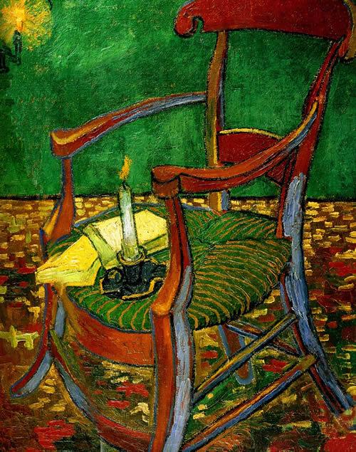 Винсент Ван Гог. Стул Поля Гогена (Пустой стул).1888