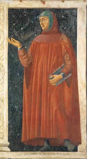 Андреа дель Кастаньо (Castagno, Andrea del) (1423–1457). Петрарка (ок. 1450, Флоренция, Галерея Уффици)