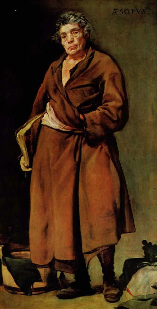 Диего Веласкес.  Эзоп. 1639-1640