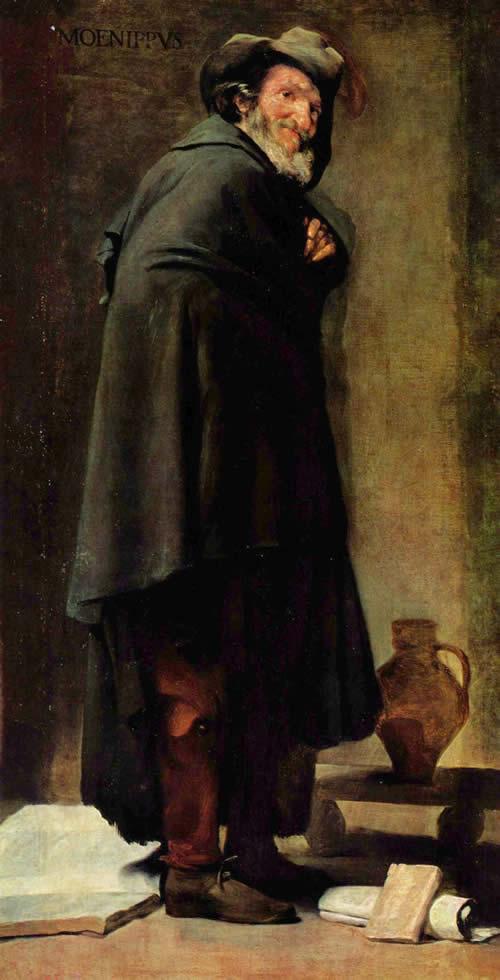 Диего Веласкес.  Диего Веласкес. Менипп. 1639-1641.