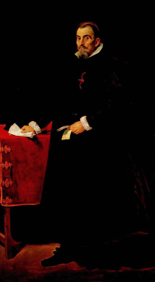 Диего Веласкес.  Портрет дона Диего де Корраль-и-Арельяно. 1631-1632