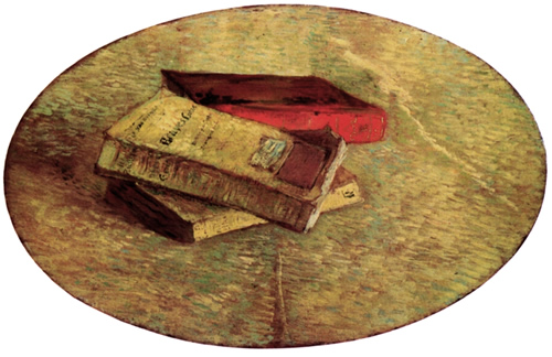 Ван Гог. Натюрморт с тремя книгами