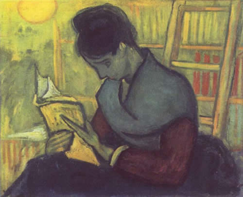 Винсент Ван Гог. Читательница романа. 1888