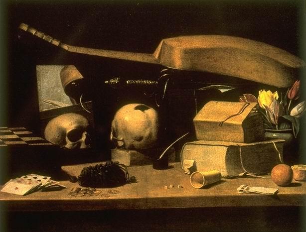 Неизвестный голландский художник XVII в. Vanitas