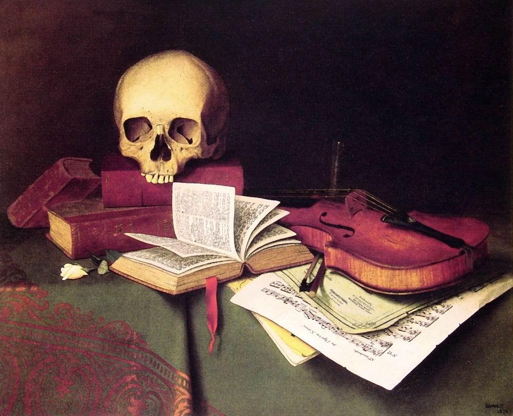У.М. Харнетт. Смерть и бессмертие. 1876