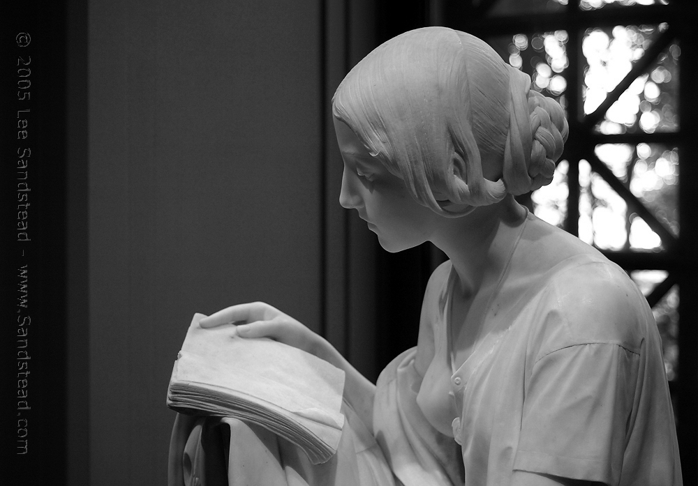 Пьетро Маньи. Читающая девушка. 1861