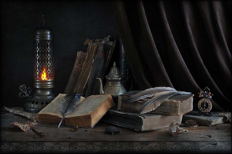 __ELENA__. Со старой лампой…