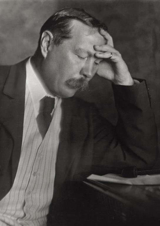 Артур Конан Дойл (Arthur Conan Doyle), писатель, Англия, 1912