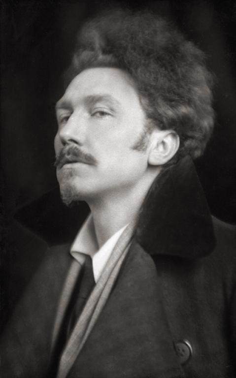 Эзра Паунд (Ezra Pound), писатель, США, 1918