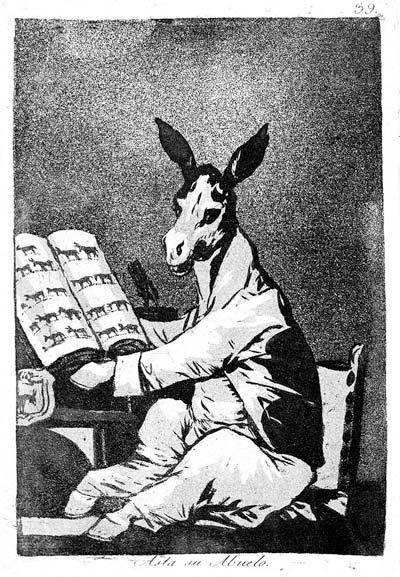 Франсиско Гойя. Капричос. Акватинта. 1799 г.