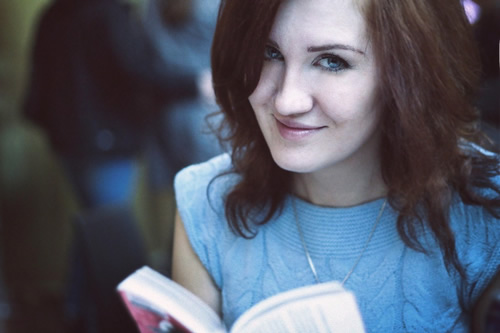 Книга и улыбка