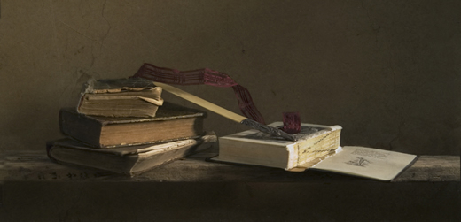 натюрморт с книгами