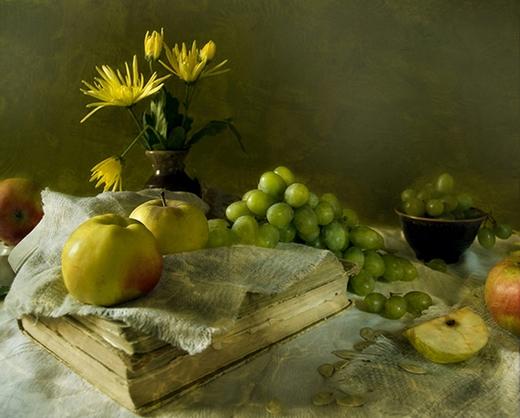 Яблочно-виноградный