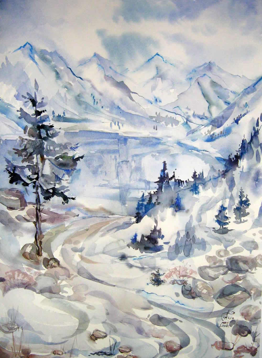 Большое Алматинское озеро2
