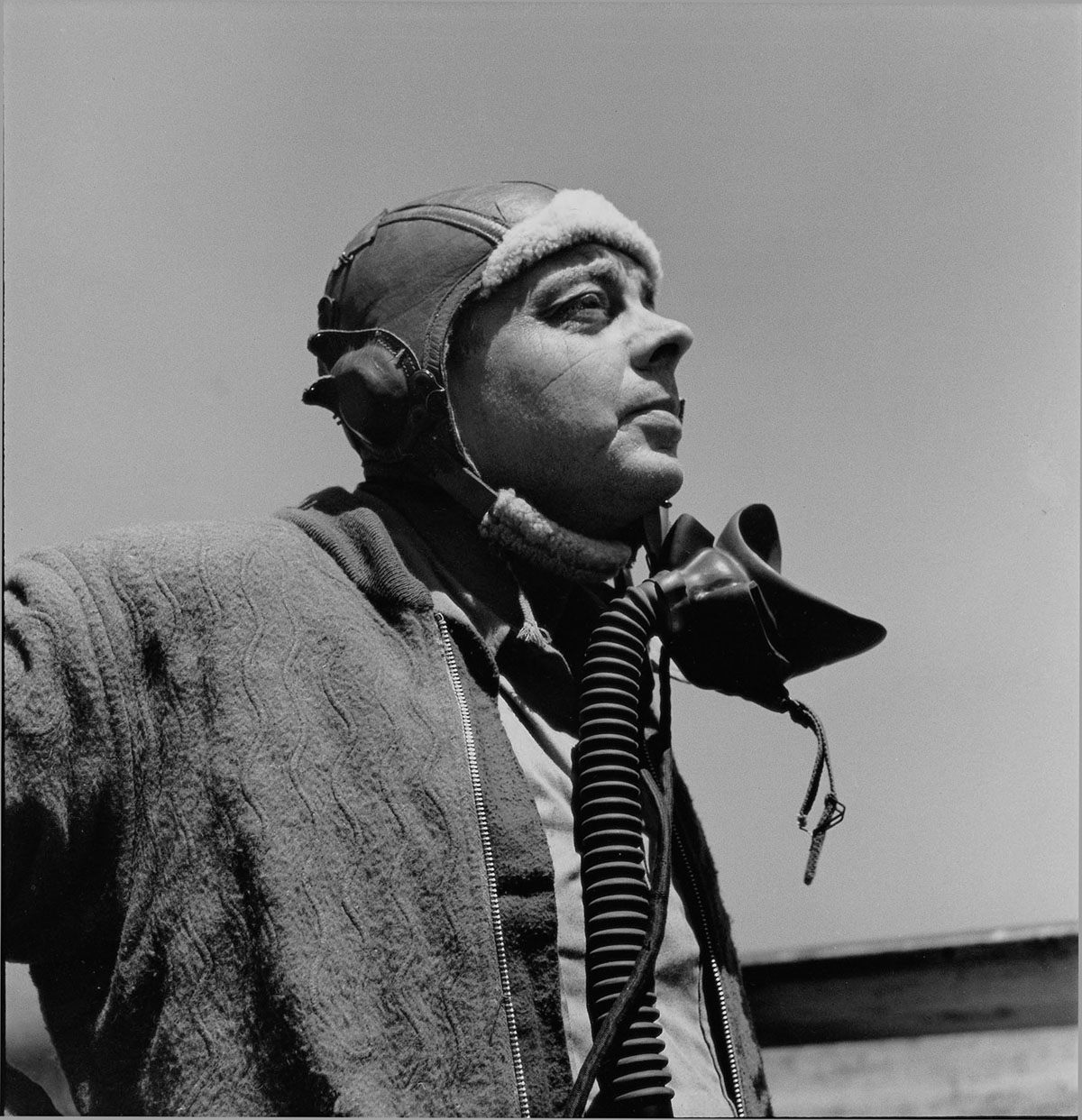 Antoine de Saint Exupery, 1944. Photo: John Phillips, ©The John and Annamaria Phillips Foundation